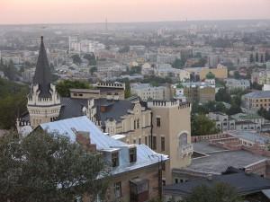 15 serpnja 2004 - Kyjiv, vyd na Podil foto Jurija PEREBAJEVA